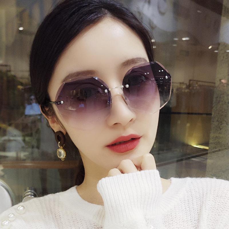 正品牌绅士暴龙2019女士偏光太阳镜新款防紫外线眼镜长脸圆脸墨镜