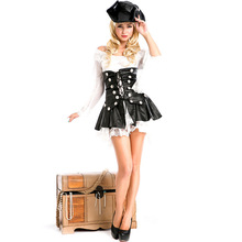 Pirate Costumes Halloween foreign trade game costume cosplay