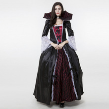 Vampire Costumes Gothic Vampire dress, Halloween, the dark ghost bride stage costume.