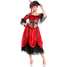 Red Female Pirate Costumes