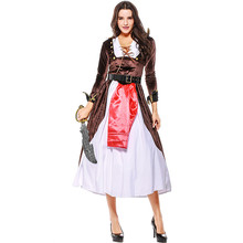 Halloween Costumes Halloween Costume Pirate Costume women's game costume medieval cos Costume