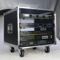 订做4U麦克风机柜专业12u简易航空箱16u调音台6u功放机音响8u箱子