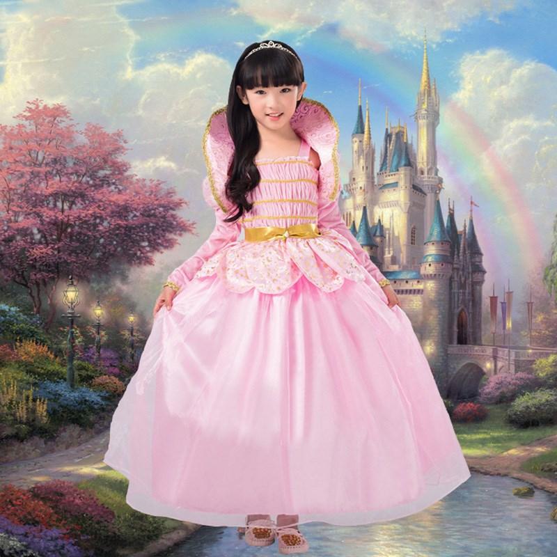 万圣节儿童服装 白雪公主裙 幼儿园舞会女童巴拉拉小魔仙cos服饰