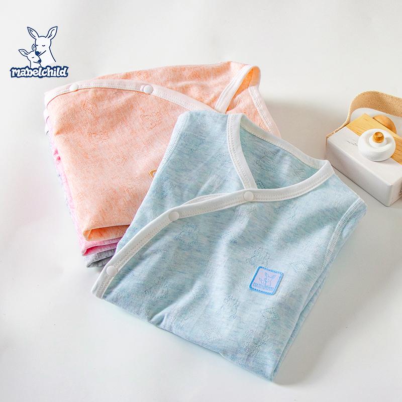 新生儿衣服初生婴儿夏季薄款哈衣刚出生小宝宝短袖长裤婴儿连体衣