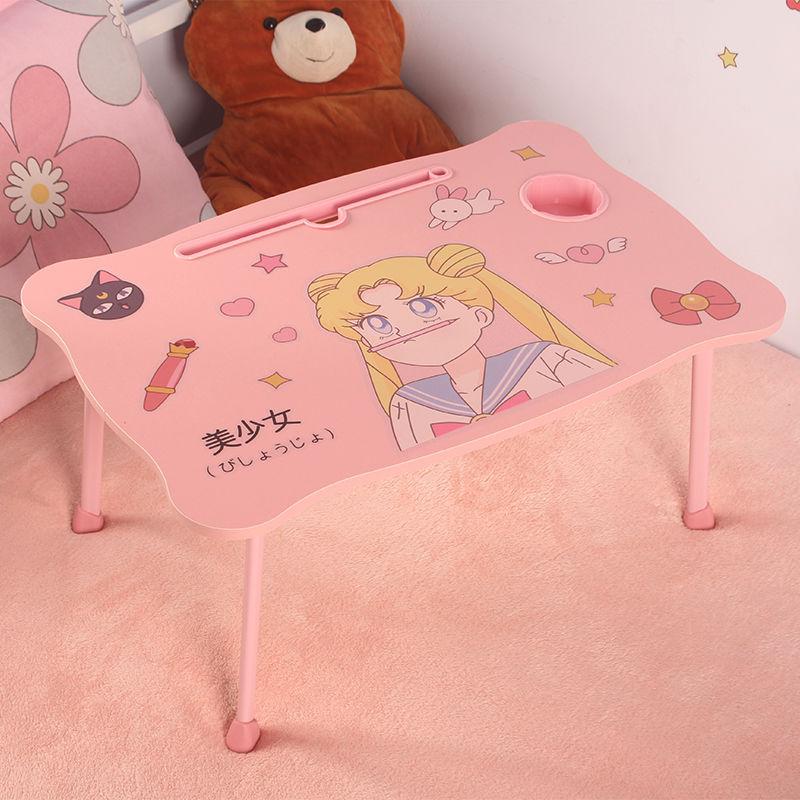 电脑桌折叠小桌子学生写字寝室神器宿舍懒人儿童卧室少女床上书桌