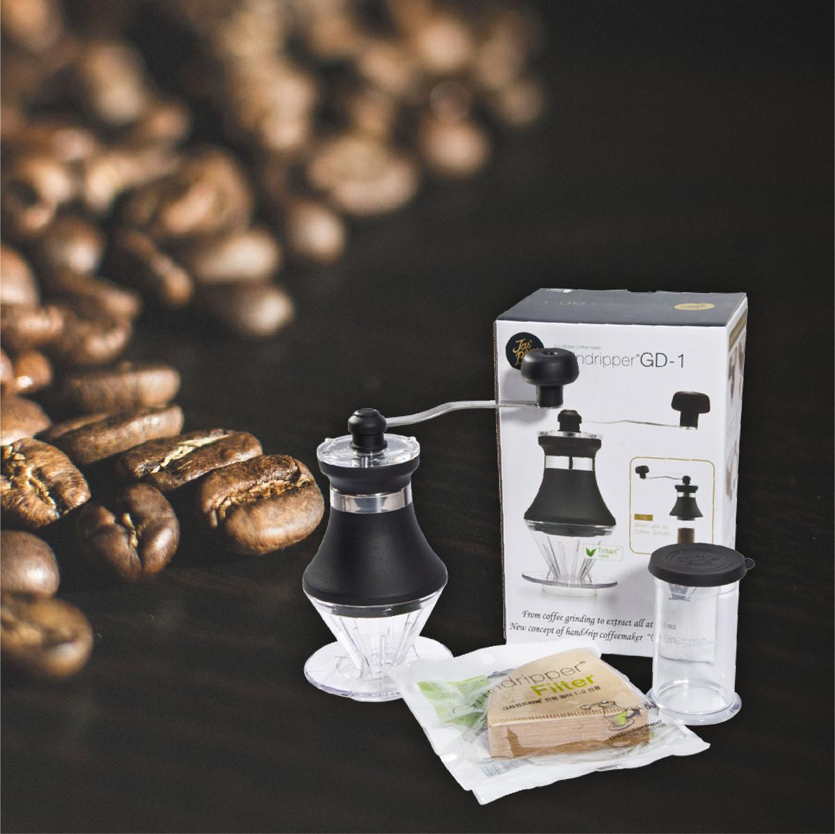 【首页关注店铺券后15.9】Jas'Bleu咖啡磨豆机套装