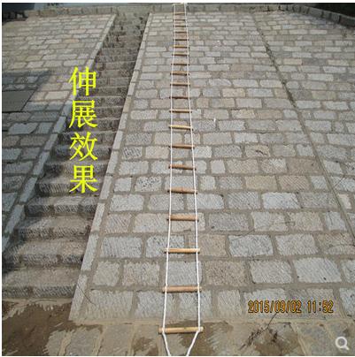 救生软梯绳安全梯子 户外应急逃生宿舍家用5 10 15 20 30米