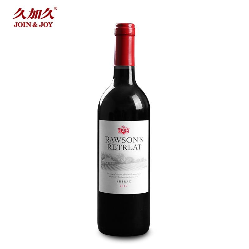 【久加久直供】奔富洛神山庄西拉干红葡萄酒澳洲原瓶原装进口红酒