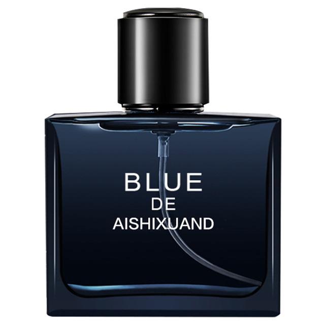 【明星同款】法国进口香料蔚蓝香水男士专用喷雾古龙淡香水50ml