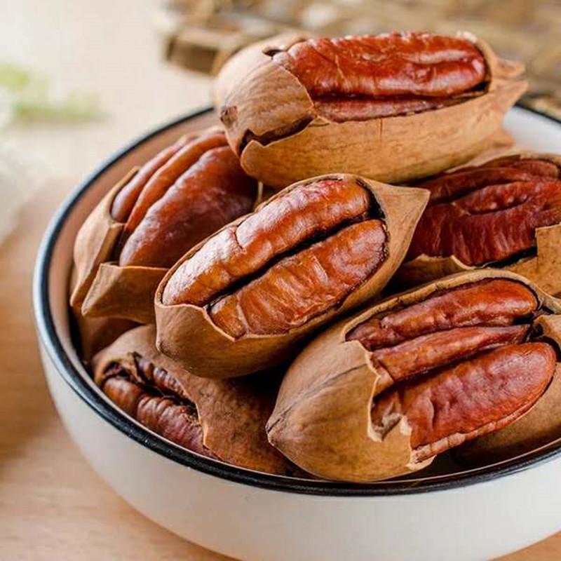 【怪吉吉】19年新货大颗粒碧根果坚果长寿果坚果干果连罐多规格