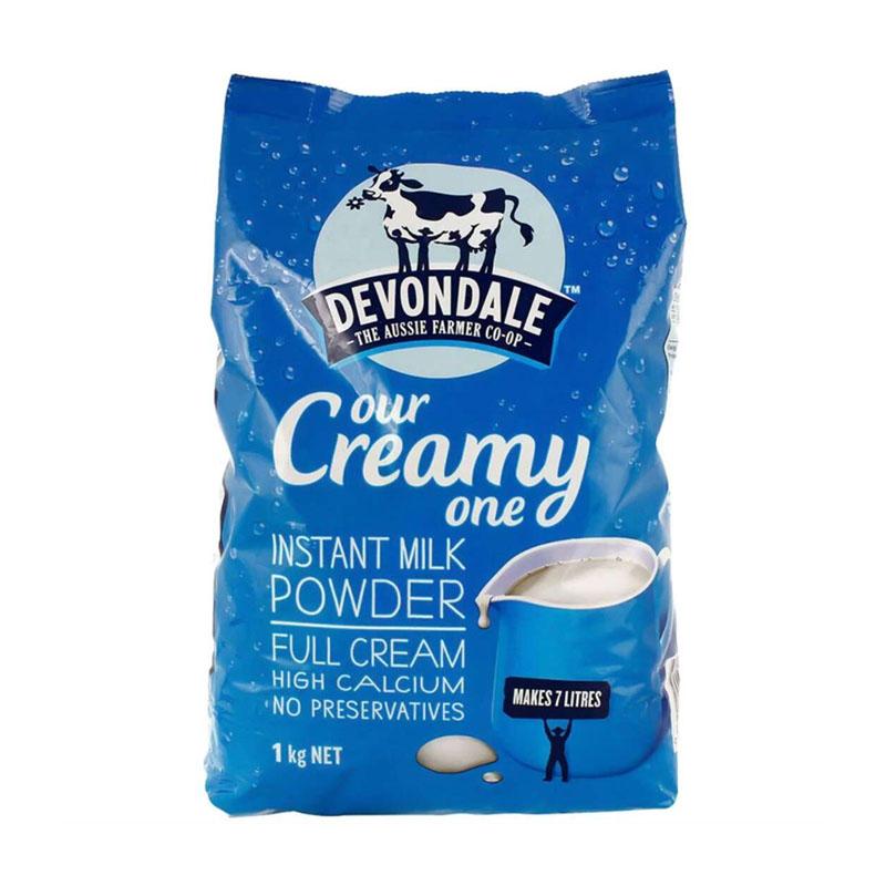 澳洲进口德运全脂成人奶粉调制乳粉1kg 青少年牛奶粉。