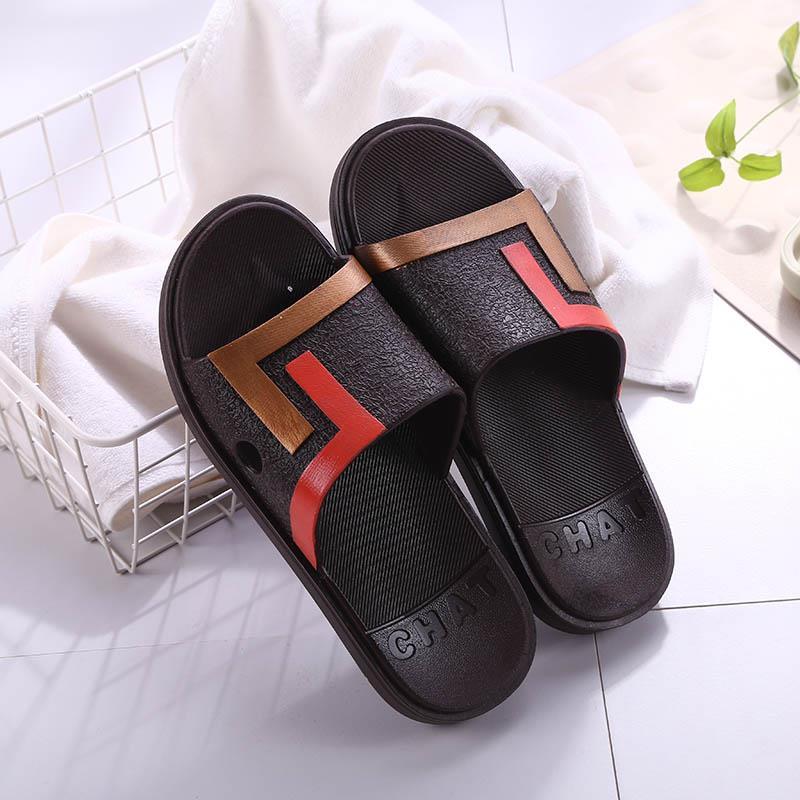夏季拖鞋男生室内浴室洗澡防滑凉拖居家塑胶家用耐磨外穿沙滩凉鞋