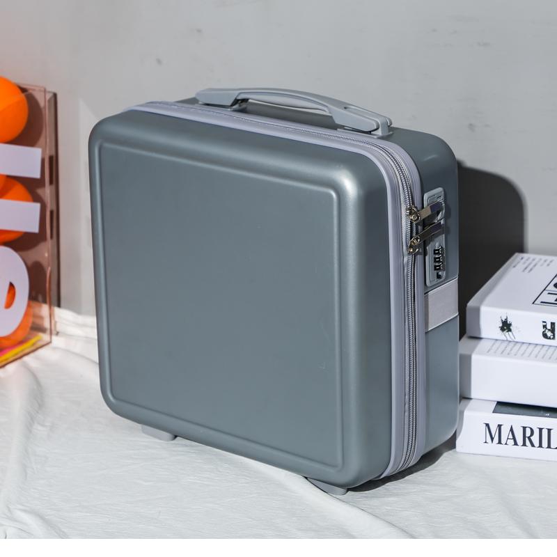 手提行李箱化妆小箱子16寸可爱动漫密码箱轻便迷你收纳箱女洗漱包