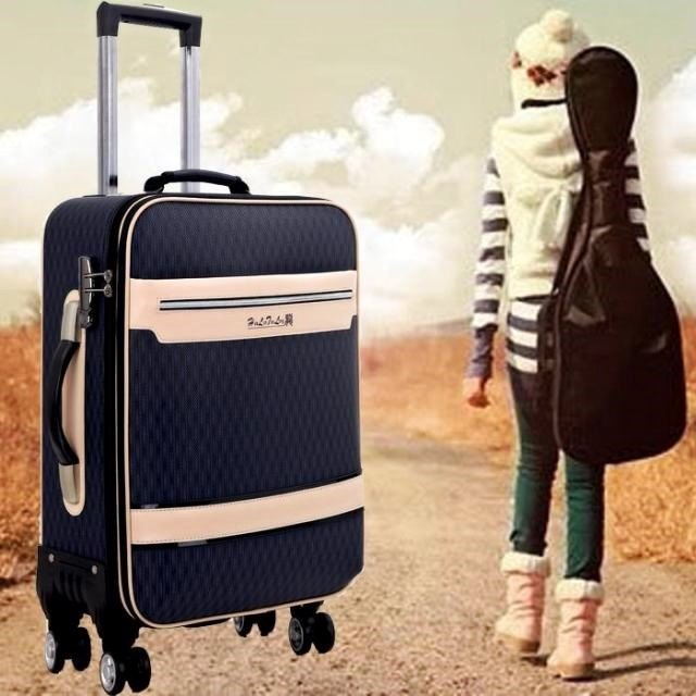 男女防水手提箱包帆布行李箱皮箱密码 拉杆箱拉杆旅行箱布料青年
