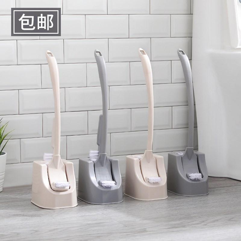 免打孔家用马桶刷套装洗厕所刷子创意长柄无死角卫生间洁厕清洁刷