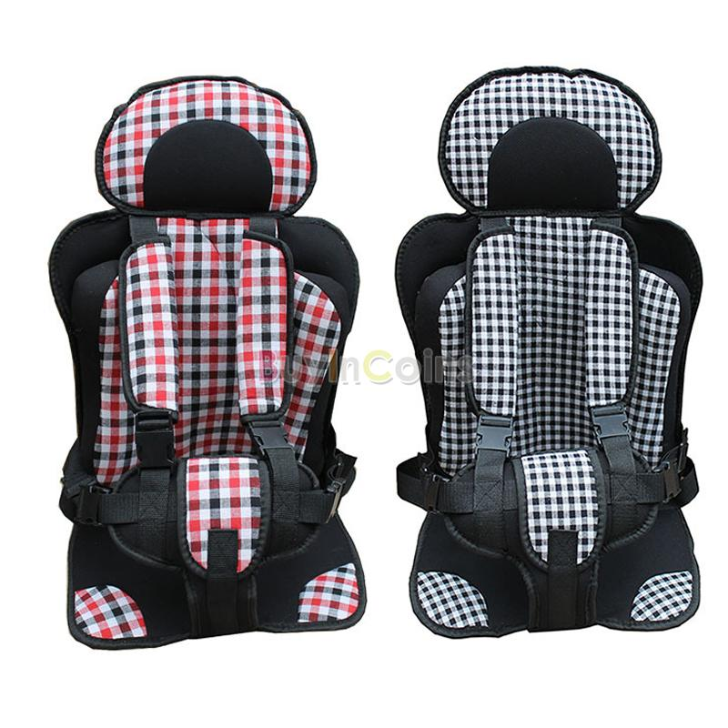 simple child car seat portable car cushion baby car safety baby seat belt buy. Black Bedroom Furniture Sets. Home Design Ideas