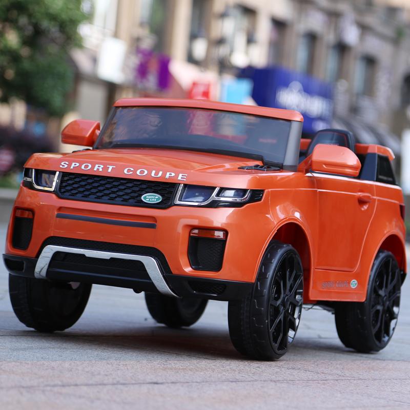 新款儿童电动车四轮宝宝越野玩具车可坐人小孩遥控小汽儿童车摇摆