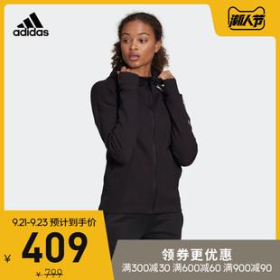 阿迪达斯官网 adidas 女装运动型格夹克外套FI6722 FL1958 FL1959图片