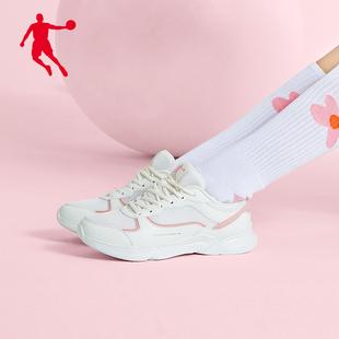 乔丹女鞋运动鞋2019秋季新款跑步鞋轻便透气夏季跑鞋网面休闲鞋女