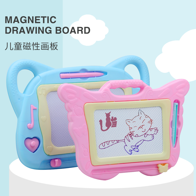 儿童画板写字板彩色磁性画画板婴儿涂鸦宝宝小黑板1-3岁幼儿玩具