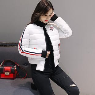 女棉服2019新款短款修身小个子冬季时尚轻薄女士洋气潮流外套女