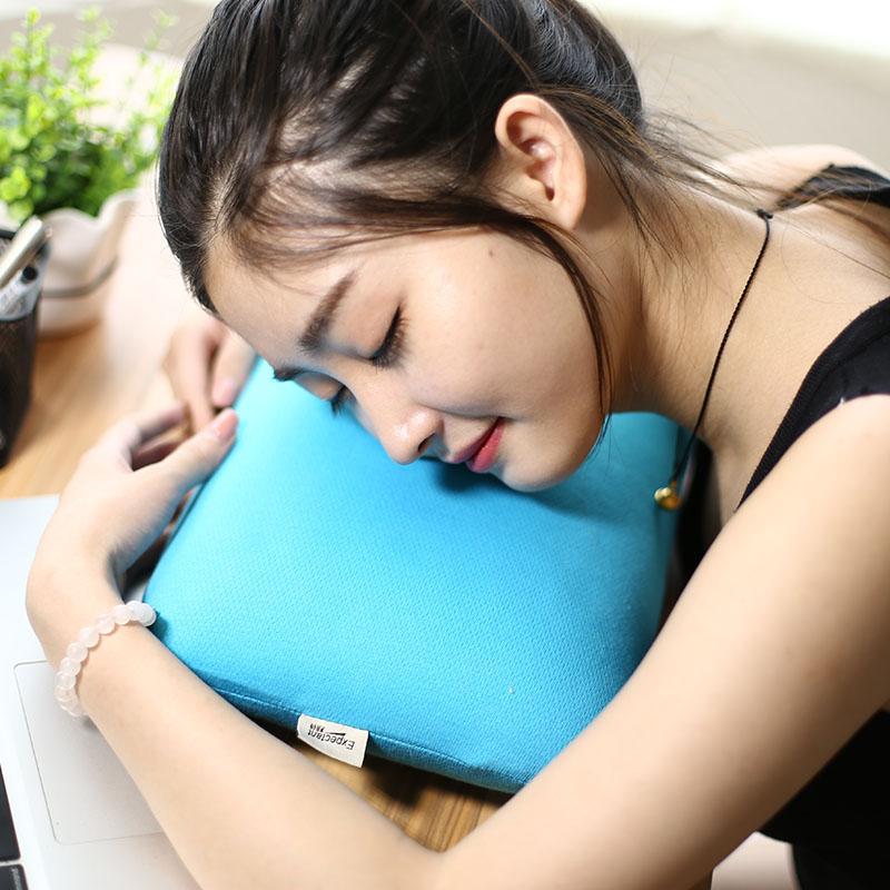 小枕头午睡枕趴睡枕学生枕趴趴枕办公室午休枕头记忆棉枕芯儿童枕