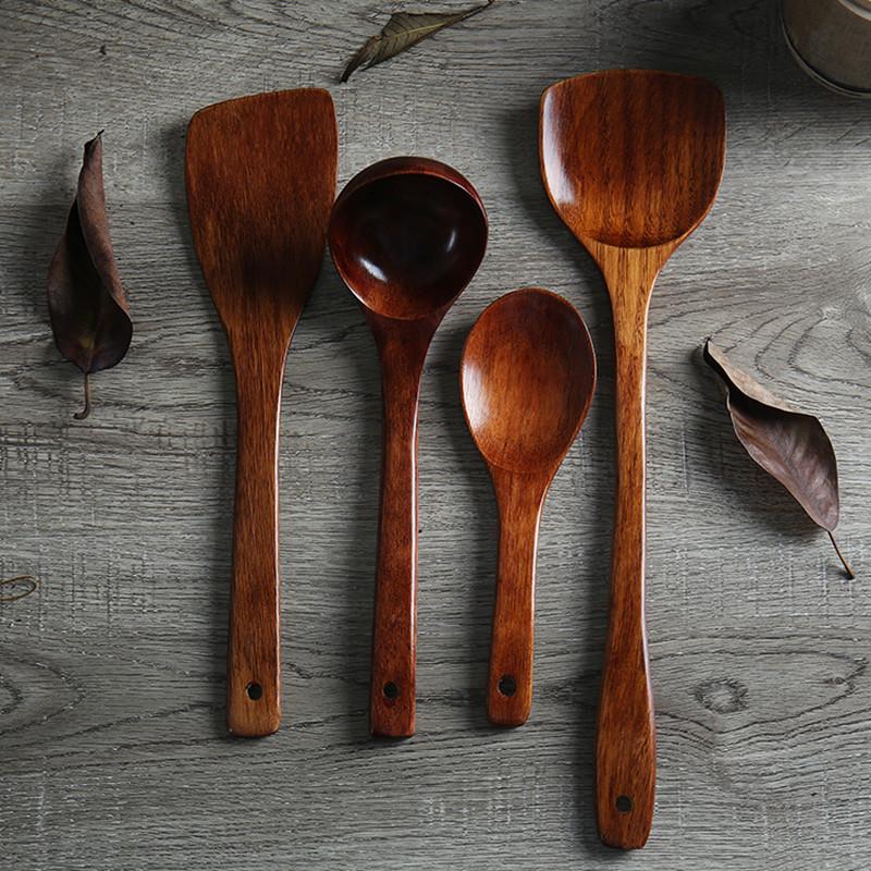 木铲子不粘锅专用耐高温炒菜铲子木长柄木铲勺