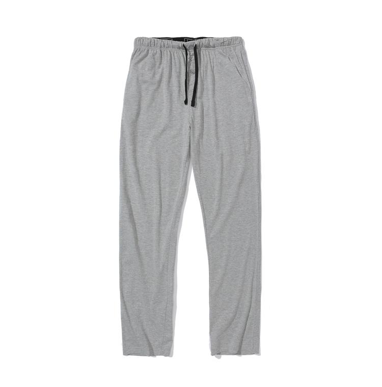 原衣纯品纯色舒适男款男装 睡裤 家居裤 有大码N24