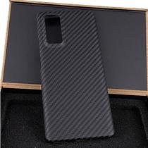 适用华为荣耀30pro+凯夫拉手机壳全包V30Pro碳纤维超薄防摔保护套