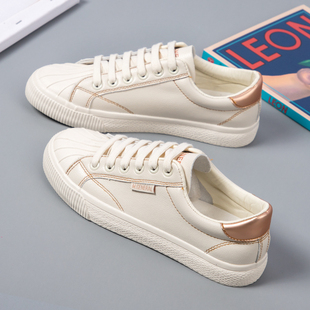 小白鞋女鞋子2020年新款百搭秋季爆款平底贝壳鞋板鞋ins街拍潮鞋图片