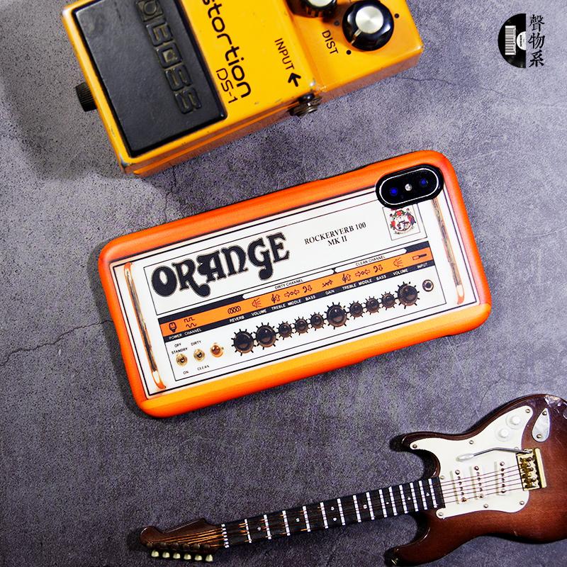 摇滚手机壳明星橘子音箱oran iphone11promax678plus小米9华为p30