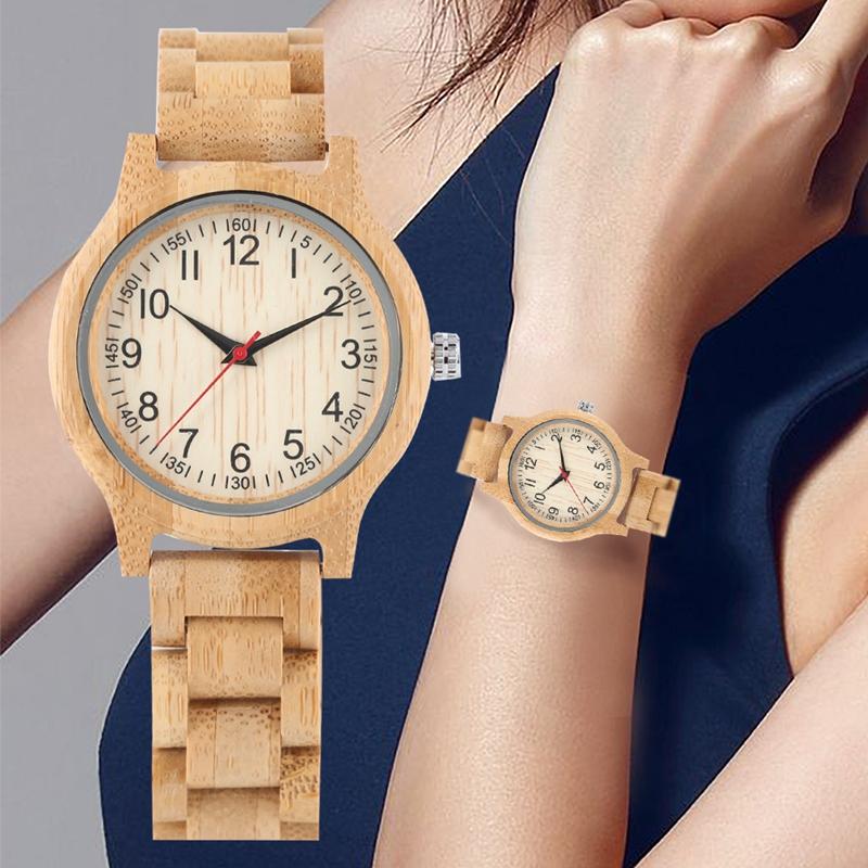 日本原木竹子木表手表腕表木制礼品表流行表外贸出口品牌表特价清