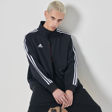 Adidas jacket new fall jacket for men and Women Sportswear knitted collar jacket