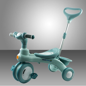 Children's tricycle pedal cart 1-3-2-6-5 years old baby trolley large boy girl portable 4