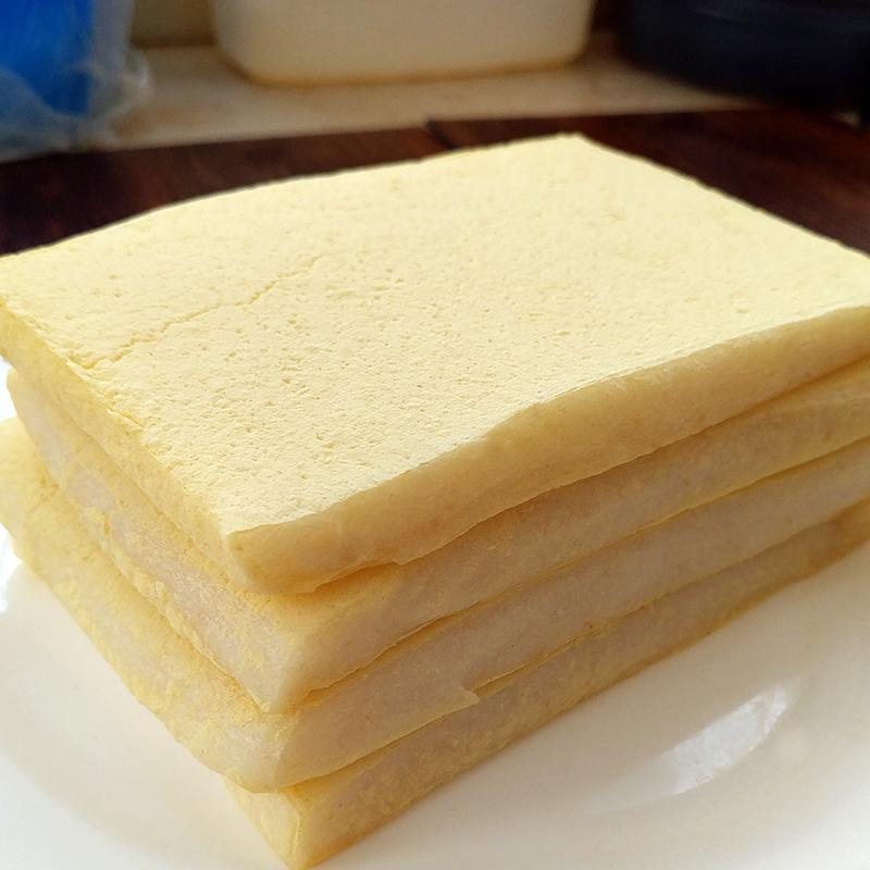 宁波特产 传统农家纯糯米手工现做糍粑 松花白麻糍特色糕点1000g