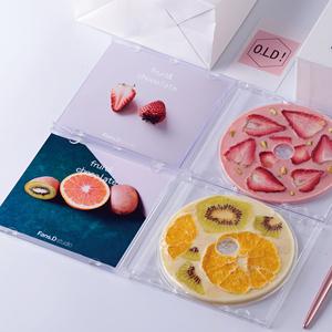 Valentine's Day New Year strawberry CD record cd chocolate creative DIY net red gift girlfriend girlfriend birthday gift