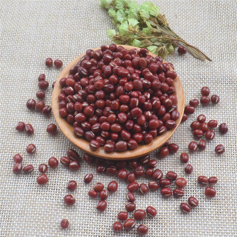 圆粒小红豆 东北红小豆 生红小豆 非长粒赤小豆 500g 5斤包邮