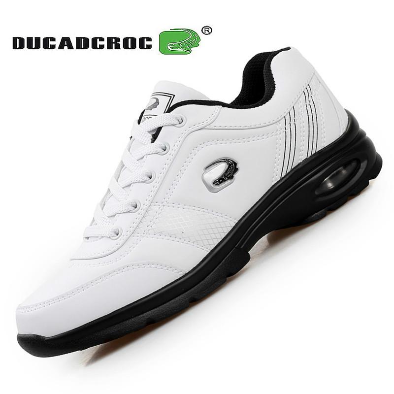 新款简鳄黑色男鞋子大码男式旅游鞋38码白运动休闲鞋防水气垫鞋45