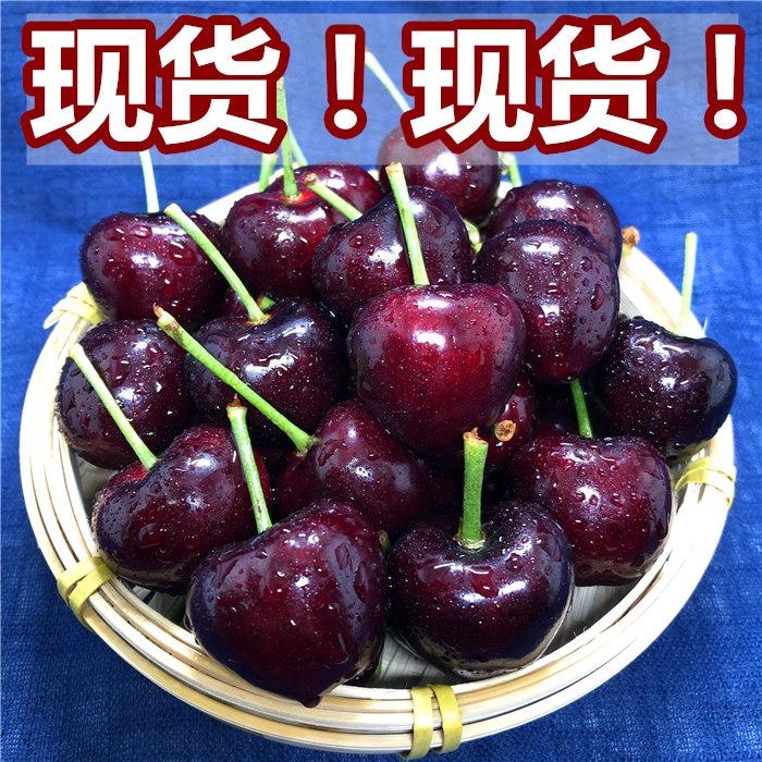 现货山东烟台大樱桃美早黑珍珠车厘子2斤 孕妇儿童新鲜水果发顺丰
