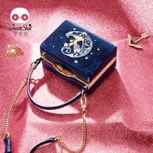 欧时纳女包2019新款时尚手提单肩包休闲斜挎潮流韩版丝绒盒子包