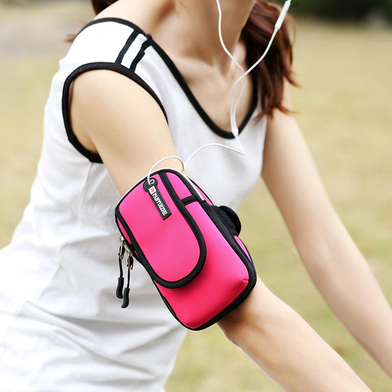 户外运动跑步手机臂包男女运动健身臂套苹果7通用手机套手腕包