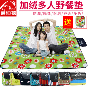 Spring Outing Picnic Mat Moisture-proof Pad Outdoor Portable Wild Camping Thicken Mat Picnic Ground Mat Picnic
