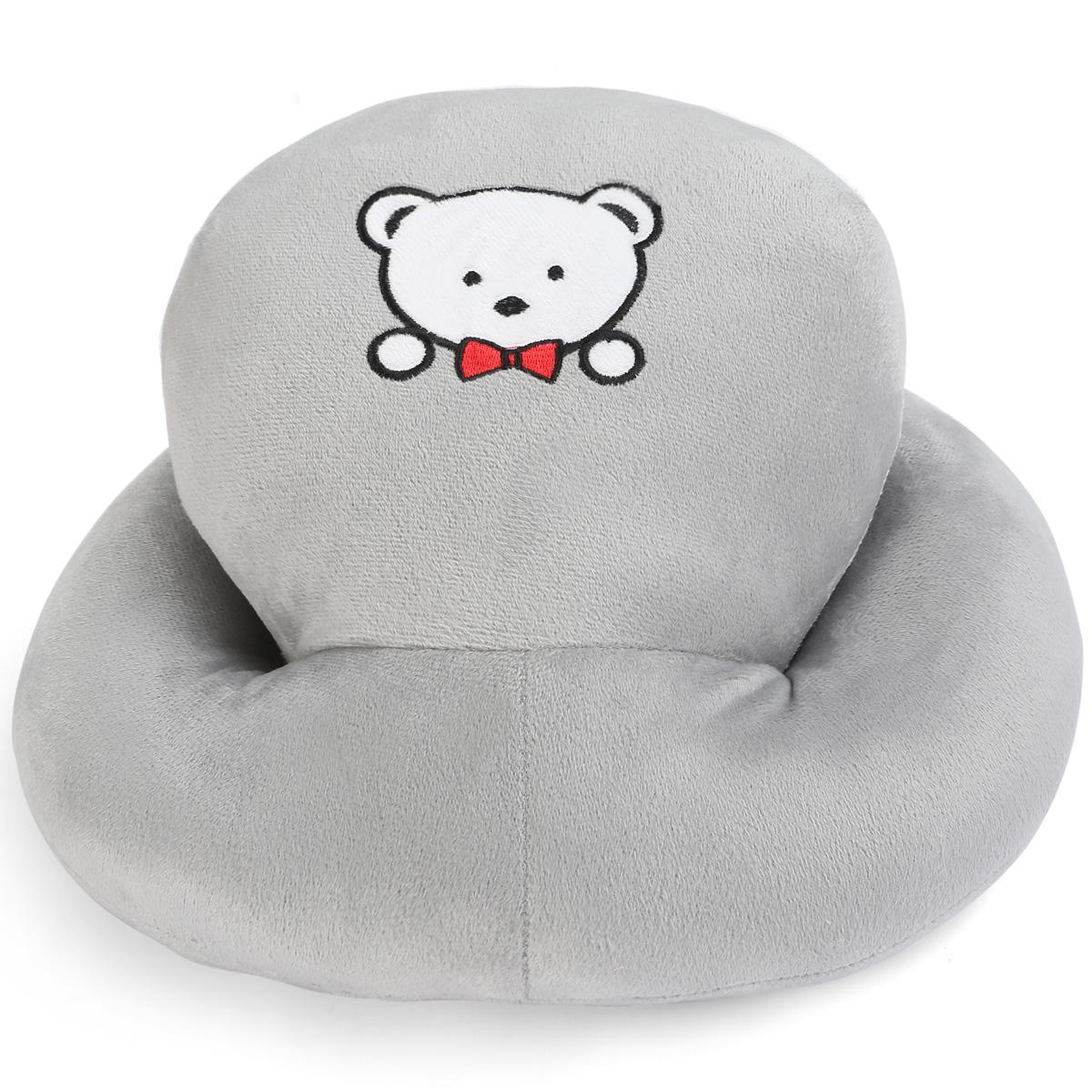 银灰熊枕头