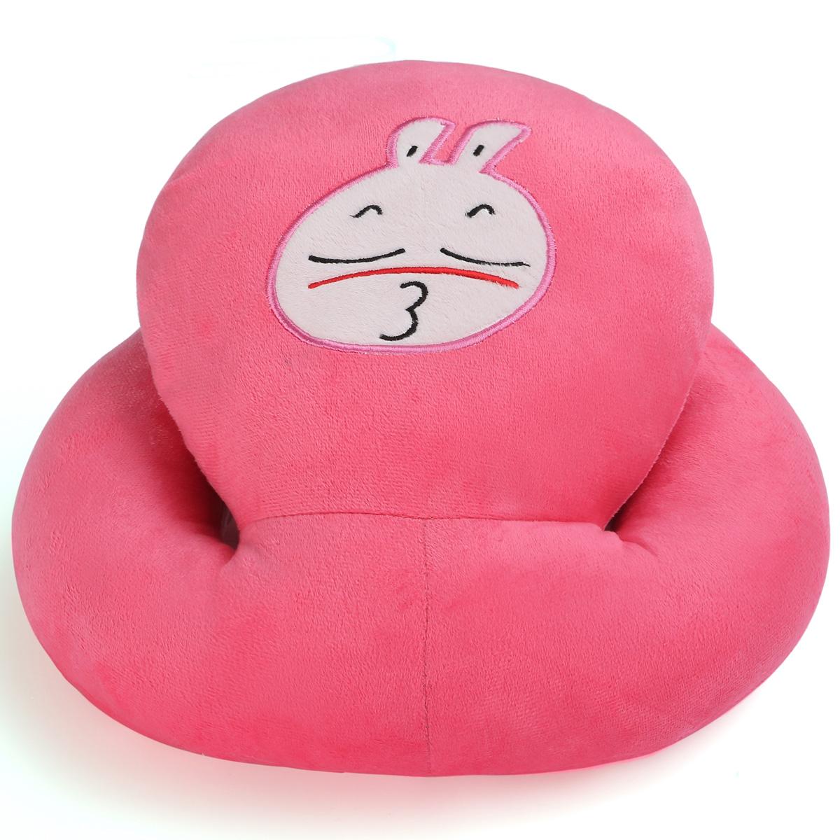红嘟嘴兔枕头