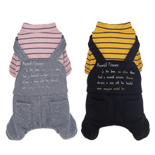 Puppy dog ​​clothes Teddy spring and autumn thin section than Xiong Bomei four feet autumn sweater small puppies pet autumn and winter clothing