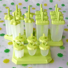 自制雪糕模lu2家用冰淇ft作冰棒套装做冰棍冰糕冰激凌磨具