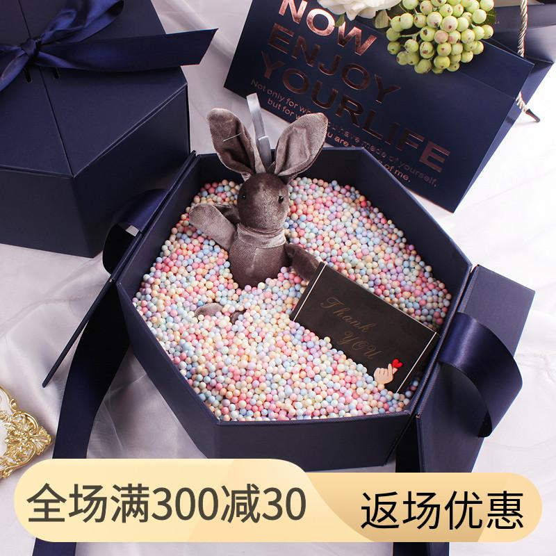 流星球礼物盒ins风精美韩版简约生日女伴娘包装盒礼品礼盒伴手礼
