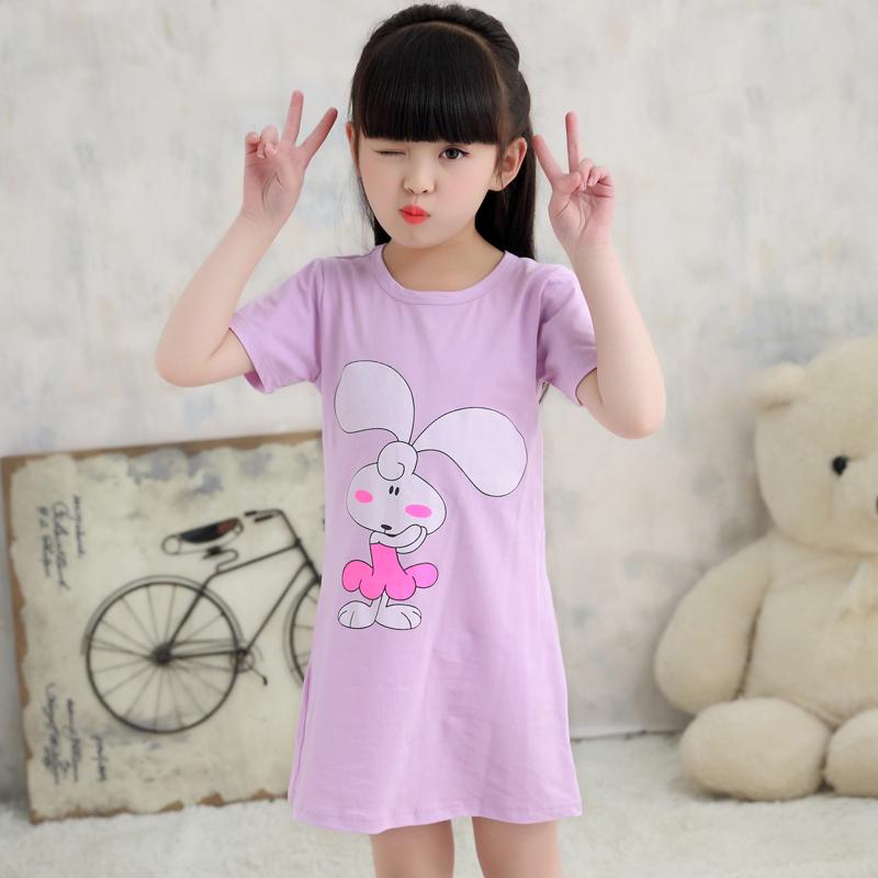 Purple Rabbit Pretty Nightdress