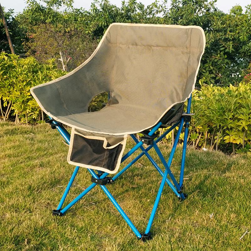 户外折叠椅便携式钓鱼椅自驾游超轻靠背椅烧烤露营沙滩椅马扎凳子