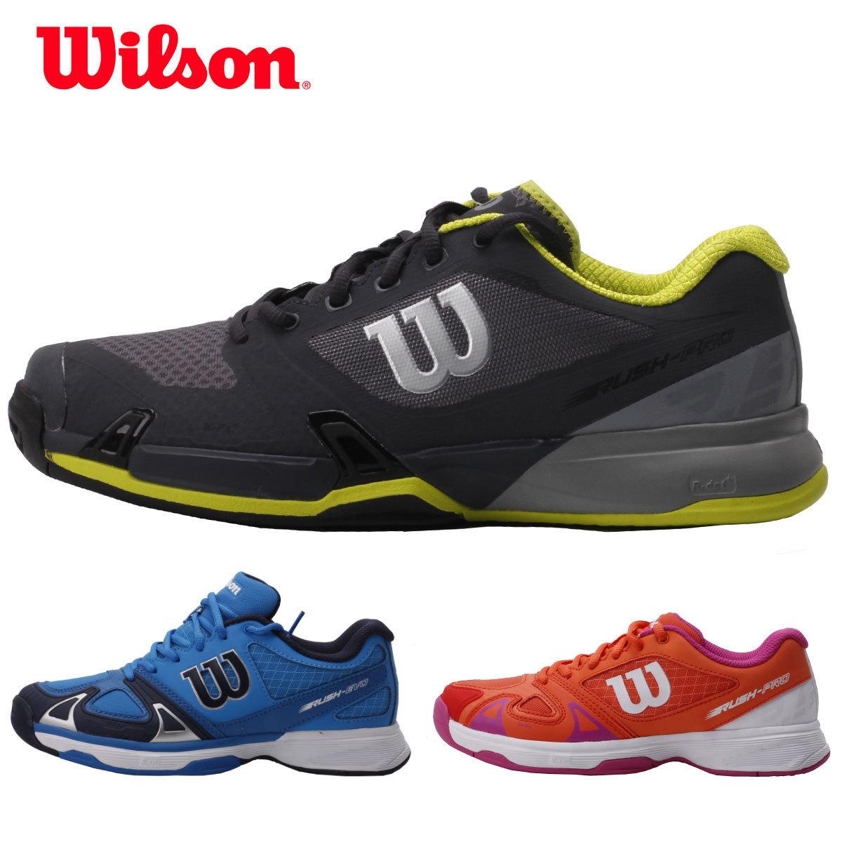 新品威爾勝WILSON正品男款女款耐磨透氣網球鞋運動鞋